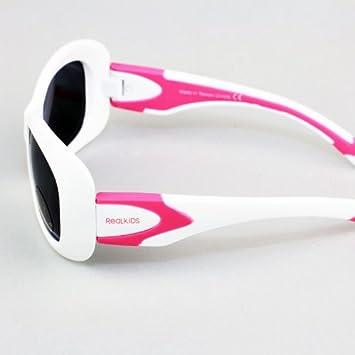 Real Kids Shades Breeze Flex Fit with Polycarbonate Sunglasses Lens 4 Plus, Purple//Navy