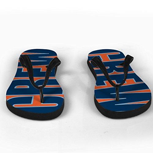 Mannskapet Flip Flops Mannskap Ord Orange