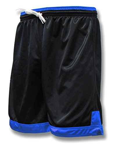 Winchester soccer team shorts for youths or adults - size Adult XL - color Black/Royal