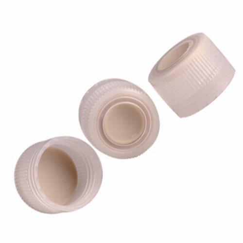 Nalgene DS2168-0384 38-430 Septum Screw Caps for Media Bottles, Autoclavable PP with TPE Septum, case/12