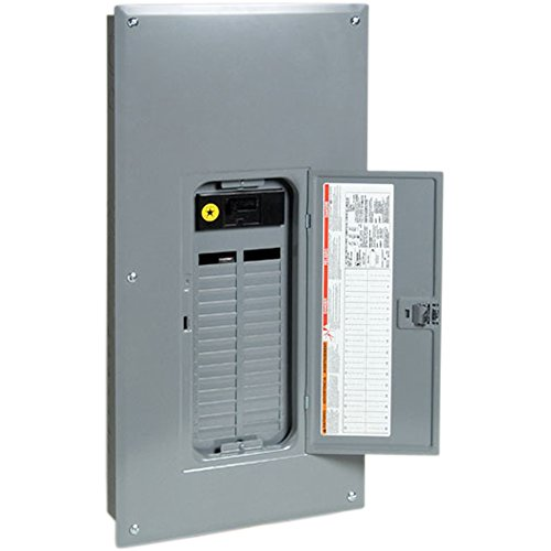 (Square D by Schneider Electric QO12040M200C QO 200 Amp 20-Space 40-Circuit Indoor Main Breaker Load Center with Cover, )