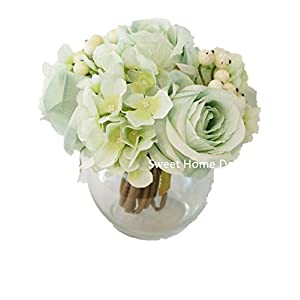 home decor silk flowers