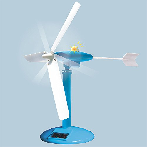 Funnyletric Wind Power Experiment Kit, STEM Education Green Science Windmill (Wind Power Experiment Kit)