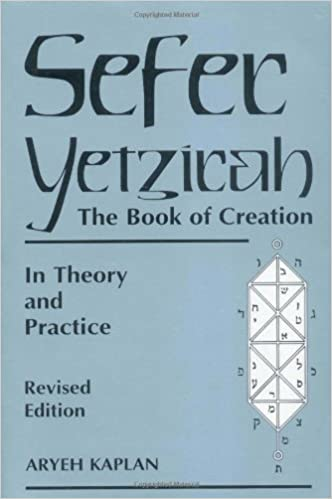Image result for picture of the Sefer Yetzirah by Aryeh Kaplan
