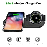 EloBeth 2 in 1 Wireless Charger Duo, Fast Charge...