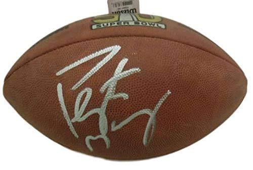 Peyton Manning Autographed/Signed Denver Broncos SB 50 Duke Football JSA