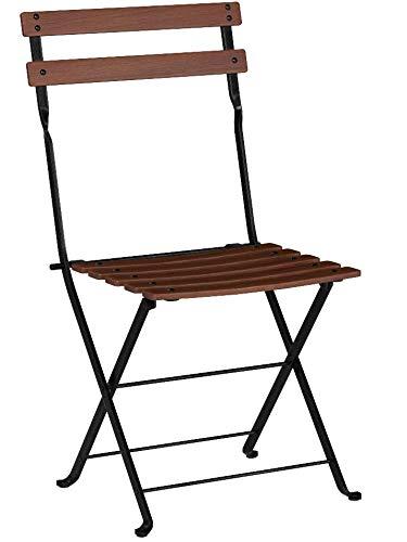 Phenomenal Mobel Designhaus French Cafe Bistro Folding Side Chair Jet Beatyapartments Chair Design Images Beatyapartmentscom
