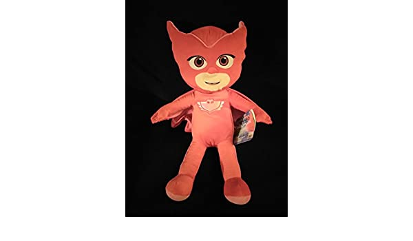 Amazon.com: Large Jumbo Disney Jr PJ Masks Plush Owlette 22 Inches New With Tags: Toys & Games