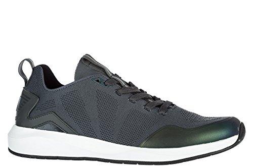 Emporio Armani EA7 Zapatos Zapatillas de Deporte Hombres Nuevo Gris