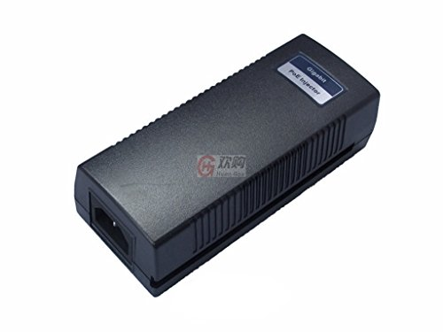 HansGo PSE801G 1 Port PoE Injector Switch 1000Mbps 19W for IP Camera Networking