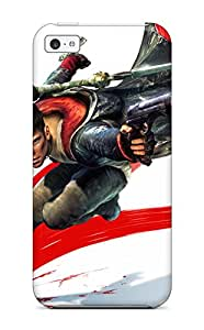 New Dmc Devil May Cry Tpu Case Cover, Anti-scratch Phone Case For Iphone 5c