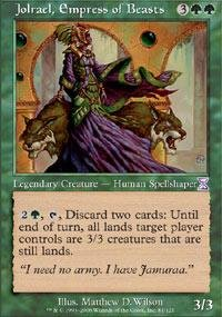 Magic: the Gathering - Jolrael, Empress of Beasts - Timeshifted