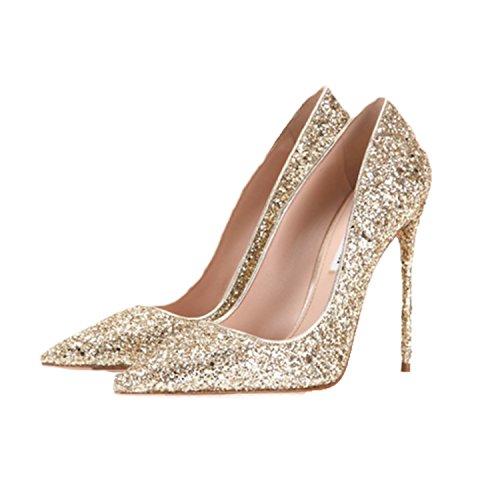 Deyard Women's High Heel Shoes MgUETh2L