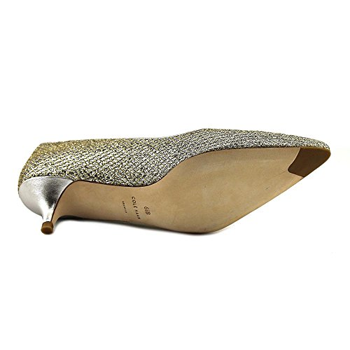 Cole Haan Dames Bradshaw Pump 40mm Spitse Neus 7 Glitter-zacht Goud