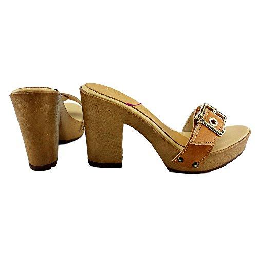 kiara Cuoio Donna Zoccoli shoes K36 vqwxXq8zr