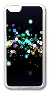 iphone 6 plus 5.5inch CaseLights Circles Bokeh TPU Custom iphone 6 plus 5.5inch Case Cover Transparent