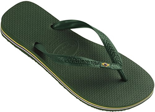 Havaianas Brasil Brazil Thong Flip Flops - Various Colours Green (Amazonia 2619) VgYxK9rsXX