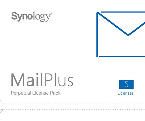 Synology Mail Server (MailPlus 5 Licenses) by Synology (Image #1)
