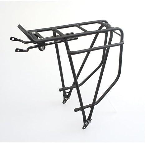 Pieza trasera para bicicleta Summit M de aleación/porta alforja de ciclismo plateado: Amazon.es: Deportes y aire libre