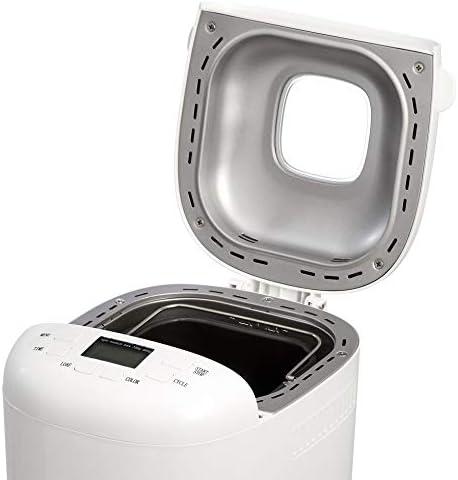 AmazonBasics Machine à pain 15 modes, 700-900g, 550W