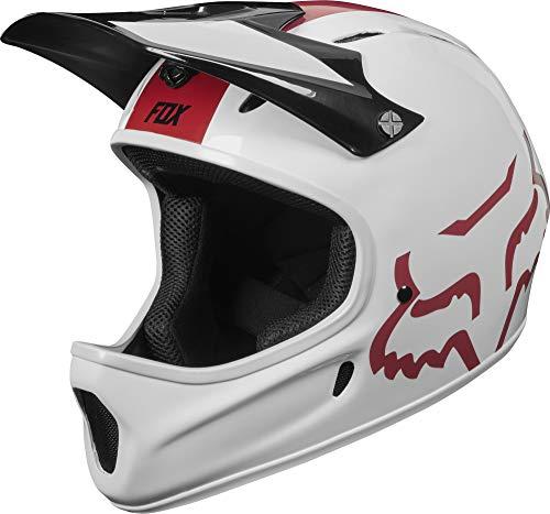 Fox Head Rampage Adult Full Face Bike Helmet (White, Medium)