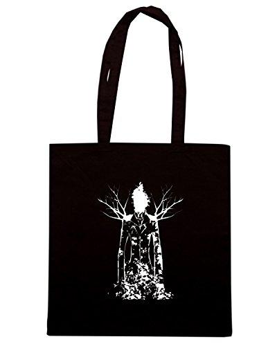 T-Shirtshock - Bolsa para la compra FUN0032 02 13 2013 Slender T SHIRT det3 Negro