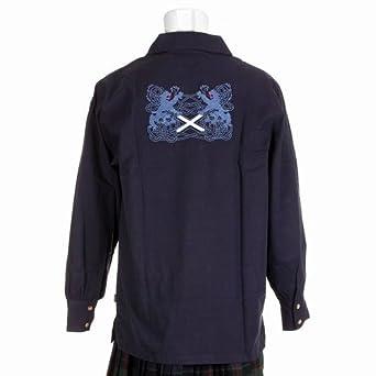 The Scotland Kilt Company Para hombre Azul Marino sobredosis para ...