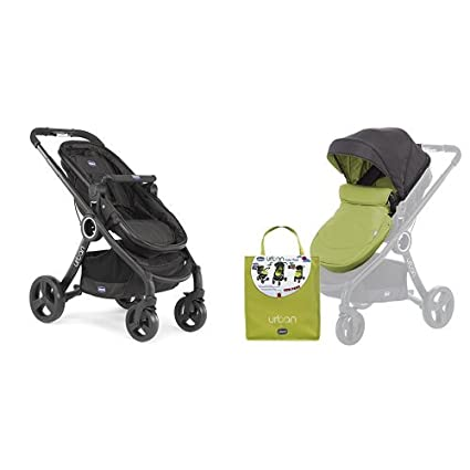 Chicco Urban plus -Carrito transformable en capazo y silla de paseo ...
