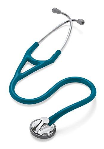 3M Littmann Master Cardiology Stethoscope, Caribbean Blue Tube, 27 inch, 2178
