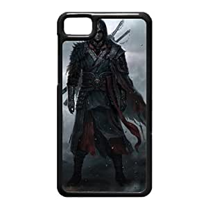 Black Berry Z10 Case,Assassins Creed Iv Black Flag High Definition Wonderful Design Cover With Hign Quality Hard Plastic Protection Case