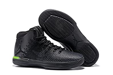 timeless design 7ca77 8e0db Image Unavailable. Image not available for. Colour  Nike Air Jordan XXXI 31  Black ...