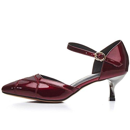 Nine SevenPumps - Zapatos de tacón  mujer granate