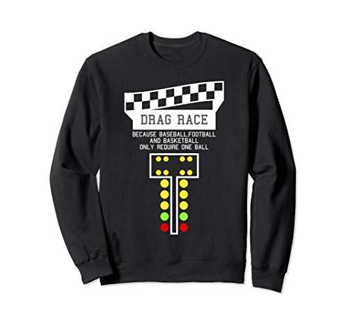 Drag Racing Christmas Tree Sweatshirt, Racing Sweatshirt