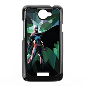 Batman Polygons HTC One X Cell Phone Case Black Delicate gift AVS_538941