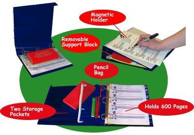 3 Ring Binder & Magnetic Slant Board - Super Duper Publications Educational Learning Resource for Children