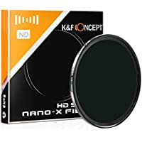 K&F Concept 67MM ND filter ND 1000 10 Stops, Neutral Density Lens Filter HD 18 Layer Neutral Grey ND Lens Filter With Multi-Resistant Nano Coating For Canon Nikon lens