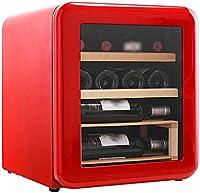 SHENXINCI Termostato Enfriador de Vino Retro Vinoteca 12 Botellas