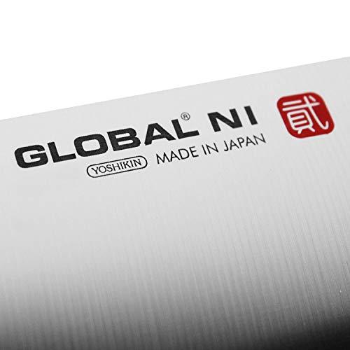 Global Ni 6-piece Knife Block Set - Knives Made in Japan