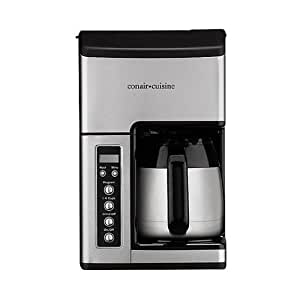 Cuisinart CC-10FR Cuisinart CC-10FR Grind & Brew 10-Cup Coffeemaker (Certified Refurbished), Silver