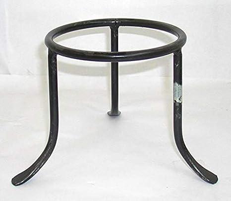 Trespolo trípode Maceta de hierro forjado modelo Vesuvio cm 24: Amazon.es: Hogar