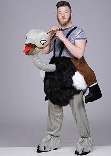 NUOVO passo in Struzzo Costume Animale adulto