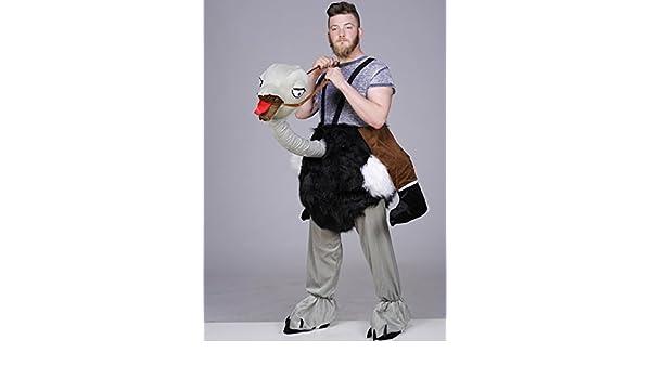 Paseo adulto disfraz de avestruz: Amazon.es: Juguetes y juegos