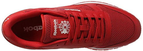 Reebok Classic Leather Nm - Tobillo bajo Hombre Varios colores (Primal Red / White / Poppy Red / Triathalon Red)