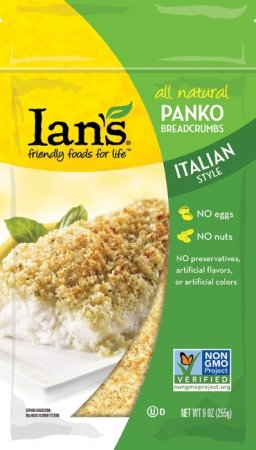 Ian's Bread Crumb, Panko, Original, Gluten-Free 7 oz. (Pack of 8)
