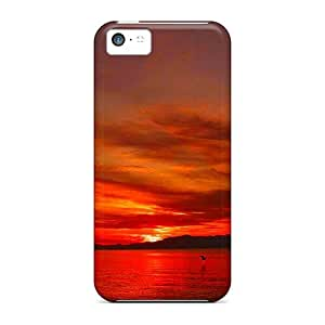 New Arrival Beauty Of Sunset AObYpRZ6973MFOyT Case Cover/ 5c Iphone Case
