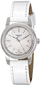 Tissot Women's TIST0332101611100 Classic Dream Analog Display Quartz White Watch