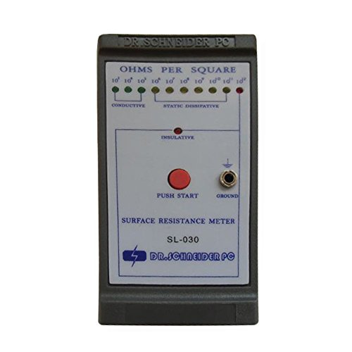 Handheld Surface Resistance Tester Electric Resistivity Meter Anti-static Tester Impedance Meter SL-030