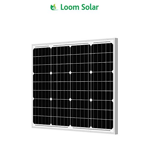 Loom Solar Panel 50 watt -12 Volt Mono Crystalline
