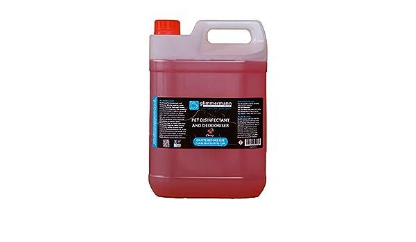 glimmermann Pet Caseta desinfectante y limpiador de ambientador para Cherry 5L: Amazon.es: Productos para mascotas