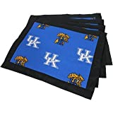 (Set of 8) - Kentucky Wildcats Placemats w/ border - Great for the Kitchen, or that Next Picnic or Tailgate Party! - Save Big By Bundling! -